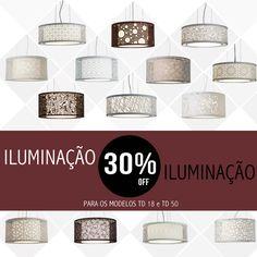Iluminação 30%OFF