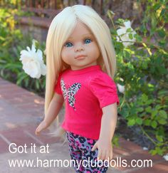 """HARMONY CLUB DOLLS <a href=""""http://www.harmonyclubdolls.com"""" rel=""""nofollow"""" target=""""_blank"""">www.harmonyclubdo...</a> Fits American Girl."""