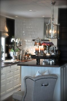 Small Kitchen - beautifully designed!  VillaPaprika