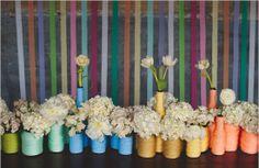 les moineaux de la mariée mariage diy bouteille ficelle centre de table