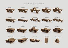 Modular furniture for public places