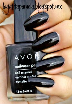 avon nail polish licorice. For more shades visit my store at www.youravon.com/fsehhati