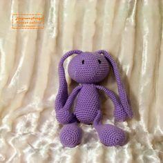 Вязаный зайка в подарок :: Handmade by Ev-Na (Evstigneeva Natalya)