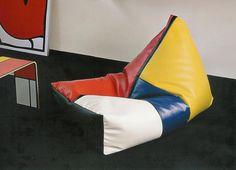 Pouf Mondrian