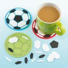 Football : bricolage, activités manuelles, loisirs creatifs foot pour enfant ; idées créatives pour fan de football
