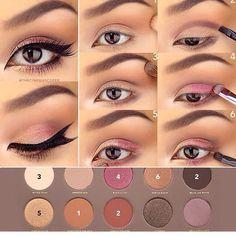 Easy Summer Eyeshadow Tutorials #SummerVibes