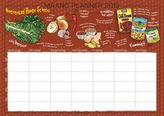 Boerenkool recepten maandplanner van Irmsblog #recepten #illustraties #foodillustrations #planner #boerenkool #infographic Own Website, Pattern Design, Print Patterns, Infographic, Bullet Journal, Draw, Cook, Prints, Infographics