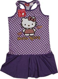 Haine Copii - Rochita oficiala Hello Kitty, 100% bumbac. Hello Kitty, Apron, Fashion, Character, Moda, Fashion Styles, Fashion Illustrations, Aprons