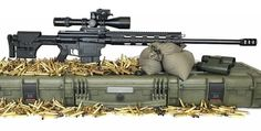 German AR-style rifles in Win Mag and Lapua Magnum by Albert Arms 300 Win Mag, 338 Lapua Magnum, Semi Automatic Rifle, Ar Build, Guns And Ammo, Shotgun, Firearms, Weapons