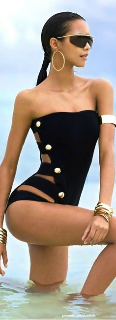 Anthony Vaccarello ● Swimsuit