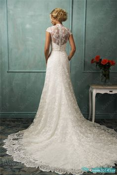 wedding dress love the lace detail