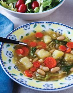 Sausage and Escarole Soup | Food | Pinterest | Sausage Soup, Sausages ...