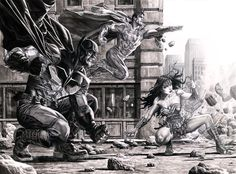 """Trinity"" by Lee Bermejo"