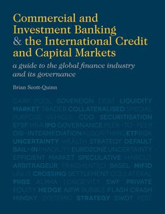 Commercial and Investment Banking & the International Credit and Capital Markets book cover ©Palgrave Macmillan
