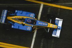 Jenson Button Renault 2002