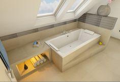 Badezimmer-mit-schräge-Bad-abgeschrägte-Dächer