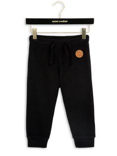 Mini Rodini – Fleece Trousers, black