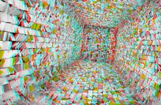 Paper Chase by XD 3D If you have Red / Blue 3D anaglyph glasses, get them now, and check it by moving your head left to right .