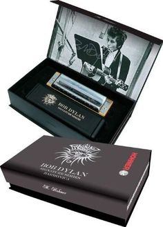 "Hohner Bob Dylan Signature Series Harmonica Key of C by Hohner. $119.00. Hohner's collaboration with Bob Dylan naturally lead to the development of a next-generation harmonica. ""This new harmonica has an enhanced sonic versatility and produces both uncharacteristically warm tones while also achieving a brilliance or 'brightness' that allows musicians to more freely express themselves,"" stated Scott Emmerman, Director of Marketing and Sales for Hohner, Inc., ""It was..."