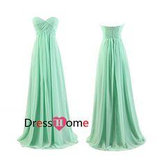 Plum Bridesmaid Dress Long Bridesmaid Dresses / by DressHome