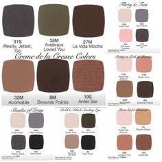 LimeLight professional eyeshadow palette ideas. You can order single, 4, 6, or get all 18 in the feeling is neutral palette