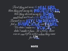 Quote of the Week. NOFX Quote