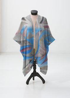 Sheer Wrap - Long Grass Sheer Wrap by VIDA VIDA TDt1g6HG7