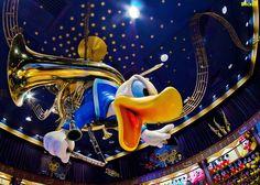Donald Duck in Mickey's PhilharMagic! by @Tom Bricker (@Walt Disney World's Magic Kingdom)