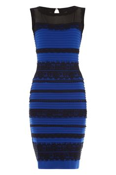 Here is the actual dress that all the buzz is about. They do have a white and black one but not white and gold. Sorry everyone that sees white and gold.