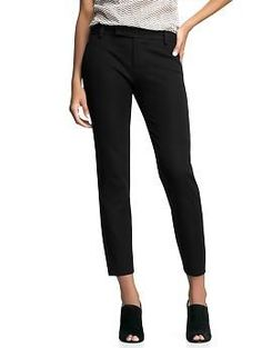 Slim cropped pants - Smart and structured, our Slim Crop pant is a modern classic. Whether paired with a T and flats or a blazer and heels, youre sure to look polished and put-together.