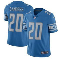 2e0830048 Nike Lions Barry Sanders Blue Team Color Men s Stitched NFL Vapor  Untouchable Limited Jersey And Bengals Vontaze Burfict 55 jersey