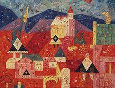 Fulla-Slovak painter and illustrator, (February Ružomberok – April Bratislava) Paul Klee, Bratislava, Ernest, S Pic, Milan, Pictures, April 21, February, Painting