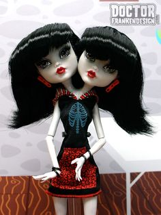 monster high conjoined twins - Google Search
