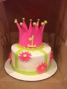 Creative Cakes - Princess smash cake