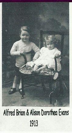 dad and aunty allison 1915ish