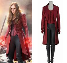 Hero Catcher High Quality Custom Made Captain America: Civil War Scarlet Witch Cosplay Costume Scarlet Witch Costume Marvel Women Costumes, Avengers Costumes, Avengers Outfits, Costumes For Women, Super Hero Costumes, Cool Costumes, Cosplay Costumes, Avengers Women, Marvel Avengers