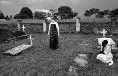 A Cemetery of Ebola Victims