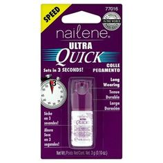 Nailene Ultra Quick Nail Glue for Artificial Nails & Repair Repair Broken Nail, Nail Repair, Pedicure Kit, Manicure And Pedicure, How To Know, How To Make, Broken Nails, Glue On Nails, Artificial Nails