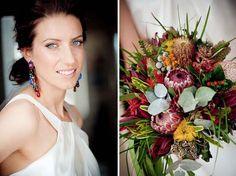 australian wedding emily chae451 Emily and Chae - Native Australian Flowers