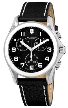 Victorinox Swiss Army Classic Chrono Ceramic Men's Quartz Watch 241501 -- Be sure to check out this awesome product. (This is an Amazon Affiliate link and I receive a commission for the sales)