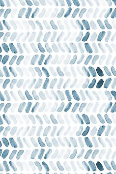 Navy Blue Watercolor Herringbone by laurapol - Blue watercolor strokes on fabric, wallpaper, and gift wrap. Hand painted watercolor strokes in a herringbone pattern. pattern Fabric by the Yard Navy Blue Watercolor Herringbone Cute Backgrounds, Phone Backgrounds, Wallpaper Backgrounds, Iphone Wallpaper, Office Wallpaper, Verses Wallpaper, Design Textile, Design Floral, Blue Design