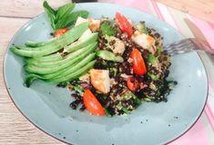 Κινόα με φακές, αβοκάντο και χαλούμι-featured_image Green Lentils, Green Beans, Vegetarian Recipes, Healthy Recipes, Food Categories, Cobb Salad, Salads, Beef, Vegan