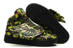 Jeremy Scott x Adidas JS Wings Camouflage Shoes