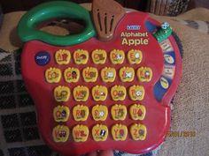 VTech Alphabet Apple | Other Books, Music & Games | Gumtree Australia Dalby Area - Bell | 1100898193 Music Games, Alphabet, Ads, Apple, Books, Apple Fruit, Libros, Alpha Bet, Musik