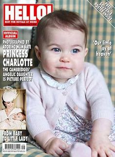 Princess Charlotte on the cover of Hello