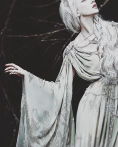 Fashion photography black and white character inspiration 57 Ideas Bild Girls, Half Elf, The Grisha Trilogy, The Ancient Magus Bride, Donia, White Witch, Dark Witch, Ex Machina, Ice Queen