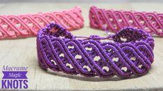 DIY Macrame Bracelet Celtic Design | Amazing DIY Idea #Macramebracelet #Macrame #Bracelet #tutorial #Celtic #Braceletceltic #DIY #MacrameMagicKnots #Craft #Macramepattern #Braceletcelticdesign