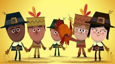 """""""Thank You for Thanksgiving,"""" Happy Thanksgiving from the StoryBots!"""