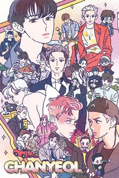 FanBook : Fan Art Social Platform I grouped the above questions concerning the pencil drawing that I received and tried … Park Chanyeol Exo, Kpop Exo, Chanbaek, Chanyeol Birthday, Exo Anime, Pop Stickers, Exo Fan Art, Kpop Fanart, K Idols