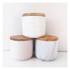 """The Bargain Diaries on Instagram: """"Here's some more of the new $5 canisters from @kmartaus. These babies came home with me today, and miraculously survived the bus ride/trek home without even a scratch! Not only are they pretty, they're also super sturdy haha #Kmart #kmartaus #bargain #homedecor #kmartstyling #kitchenware #thebargaindiaries"""""""